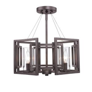 Marco - 4 Light Convertible Semi-Flush Mount